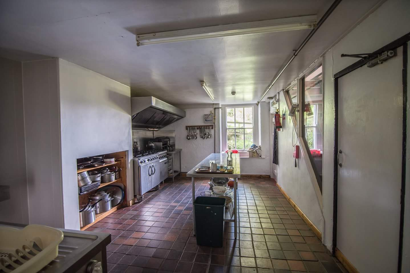 Kitchen view - east