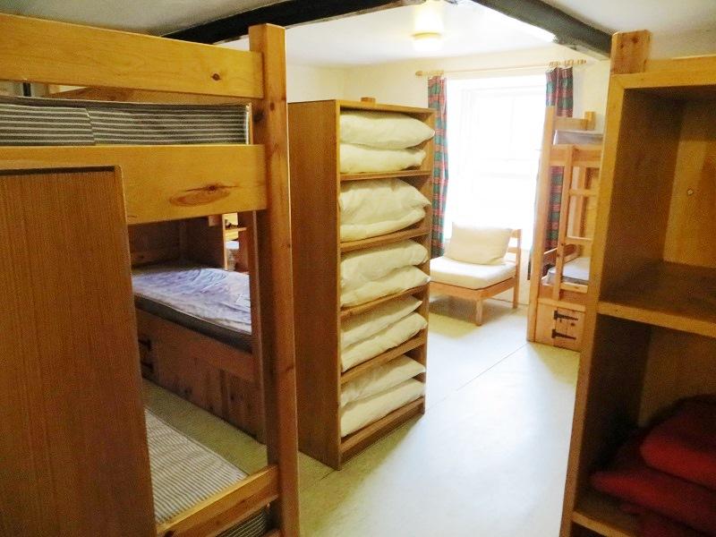 Tyson dormitory from door